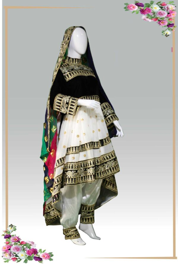 Afghani Traditional Frock- Kochyana women clothes