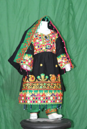 Afghani dress-Traditional Frock for kids