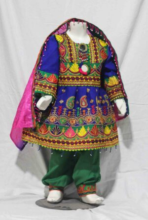 Afghani Traditional Frock