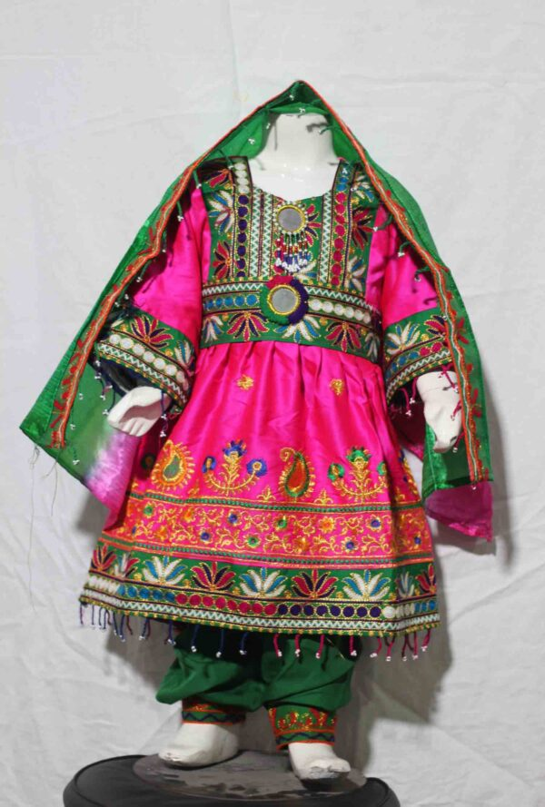 Afghani frock for kids